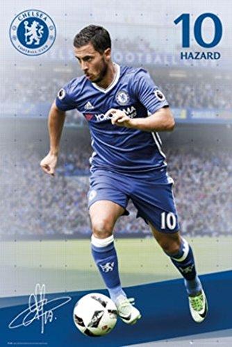 Chelsea Giant FC & Eden Hazard Poster