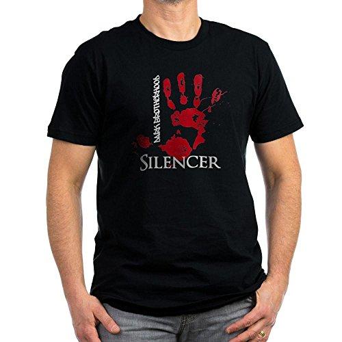 CafePress Dark Brotherhood Silencer Men's Fitted T Shirt (Da Men's Fitted T-Shirt, Stylish Printed Vintage Fit T-Shirt Black