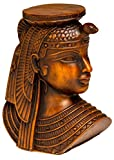 Discoveries Egyptian Imports - Dark Brown Double Sided Cleopatra - 4' - Made in Egypt