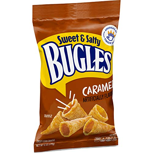 Bugles Sweet and Salty Caramel Snacks 6.0 oz Bag (pack of 12)