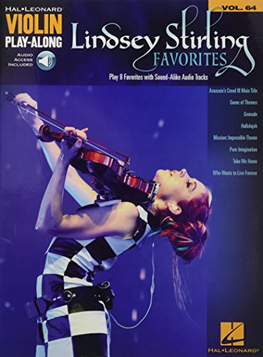 Lindsey Stirling Favorites: Violin Play-Along Volume 64 (Hal Leonard Violin Play-along)