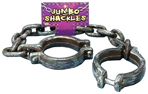 Forum Novelties Jumbo Shackles, Multicolored - http://coolthings.us