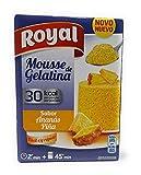 Royal Mousse de Gelatina - Sabor Pina (Ananas) - 30 kcal por racion - por 5 Raciones