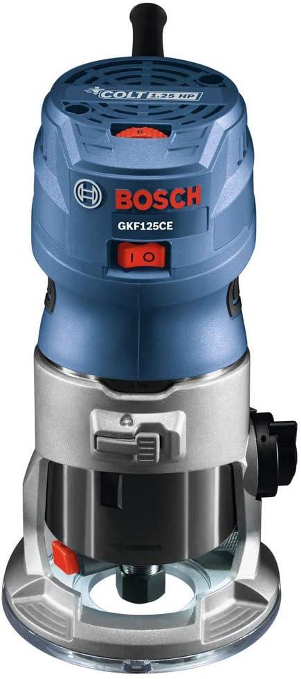 Bosch GKF125CEK-RT 120V 7 Amp 1.25 Variable 新作販売 Palm 超人気 専門店 HP Speed Router