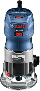 Bosch GKF125CEK-RT 120V 7 Amp 1.25 HP Variable Speed Palm Router (Renewed)