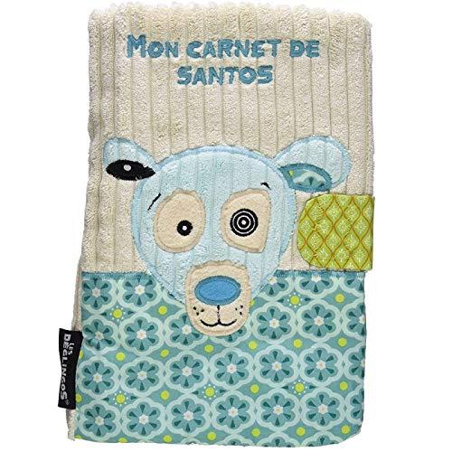 Protège carnet de santé pour bébé Cadeau de naissance Déglingos Ours