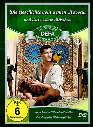 DEFA Märchen-Collection (Die Geschichte vom armen Hassan, Spiegel des großen Magus, Die vertauschte Königin, Das hölzerne Kälbchen) [4 DVDs]