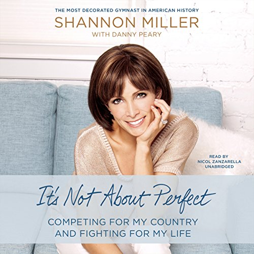 It's Not About Perfect audiobook cover art