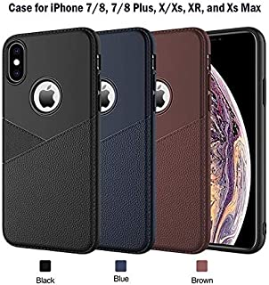 (50-Packs) Phone Cases for Apple iPhone X, iPhone Xs, iPhone Xr, iPhone 8, and iPhone 8 Plus Mix Lot Professional Soft TPU Thin Case Cover Wholesale Bulk Lot