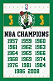 Boston Celtics - Champions 13 Poster Drucken (55,88 x 86,36