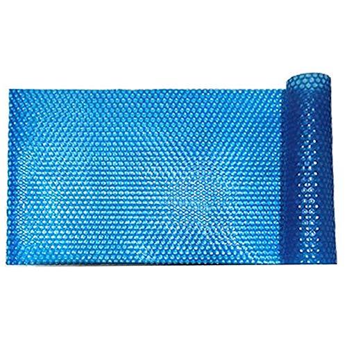 JLXJ Cobertor Solar Piscinas Cubierta Solar Grande para Piscina, Bañera de Hidromasaje Termal Flotante con Burbujas, Manta sobre Suelo, Cubiertas Impermeables Rectangulares de Alta Resistencia