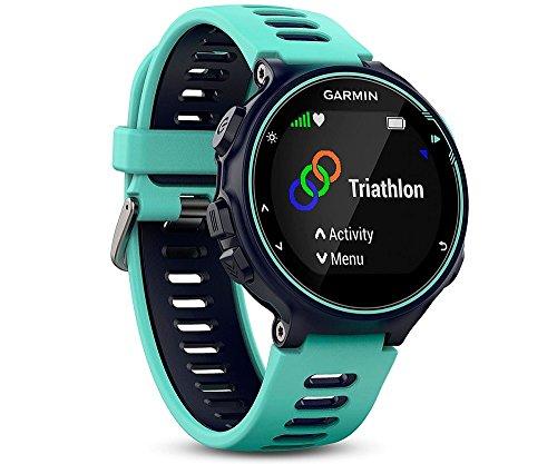 Garmin 010-01614-07 Forerunner 735XT Orologio multisport con GPS Avanzato Cardio da Polso, impermeabile fino a 5 ATM, Blu Ghiaccio