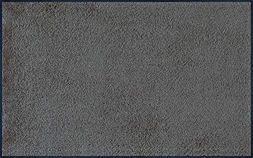 Wash+Dry Fußmatten 004677 , Anthrazit (Smokey Mount)/Grau, 75x120 cm