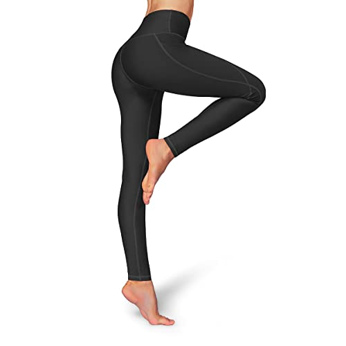 9b1d662d31e3 Occffy High Waist Out Pocket Yoga Pants Womens Tummy Control Workout  Leggings