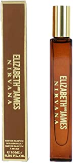 Elizabeth James Nirvana Bourbon Eau de Parfum Rollerball, 0.34 oz 10 Ml