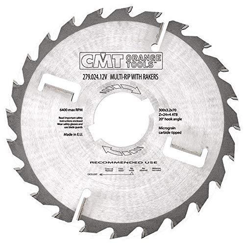 CMT Orange Tools 279,020,10 m avec scie multiple Dentés 3,2 x 250 x 30 mm 4 VTT z20