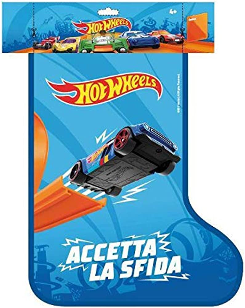 Mattel,calza befana hot wheels FWM98