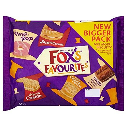 Fox's Die Besten Biscuits - 400g x 2 Doppelpack