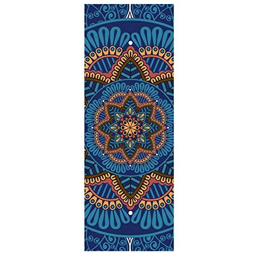 YCEOT 5 mm lotus yoga matta matta matta halkfri slimming träning gymnastik matta bodybuilding Esterilla pilates