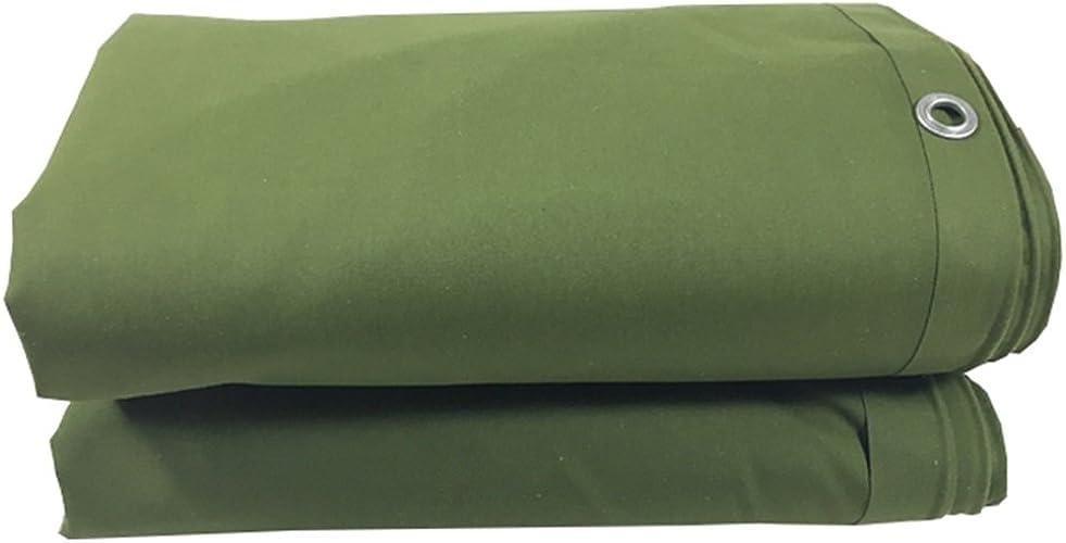 YFF-Bache LIYFF épaisseur de bache multifonctionnelle Verte de bache de 0.65mm d'épaisseur de bache résistante Verte d'ombrage extérieur pour Le Camping, pêchant, Jardinage, Options de Multi-Taille