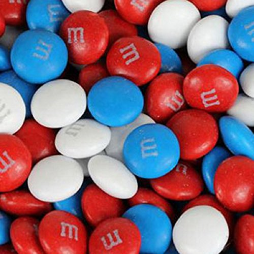 M&M's American Spirit Patriotic Milk Chocolate Candy 5LB Bag