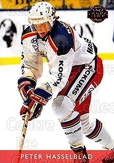 (CI) Peter Hasselblad Hockey Card 1995-96 Swedish Leaf (base) 267 Peter Hasselblad