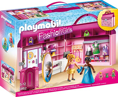 Magasin transportable : Fashion Girls - Playmobil