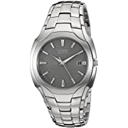 Citizen Men's Eco-Drive Stainless Steel Watch with Date, BM6010-55A
