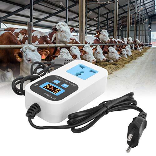 Controlador de humedad digital, Control de humedad digital, Invernaderos Comprobación duradera de la humedad para almacenamiento Hogar de almacén(Transl)