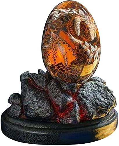 Juguetes Dinosaurios Huevo de Dinosaurio Huevos de Dinosaurio Huevo de dragón Decoración Artesanal de Resina Decoración de Escritorio Decoración Artesanal de Resina para decoración de jardín ZHE
