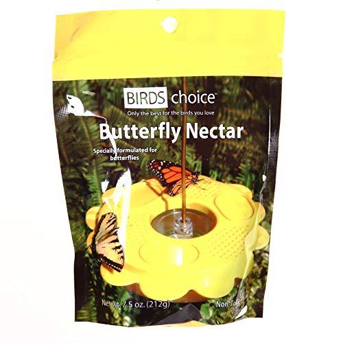 Birds Choice NP1005 Butterfly Nectar, Resealable Nectar Pouch for Butterflies, 6 Cups, 1 Pouch