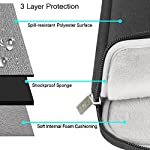 MOSISO Laptop Sleeve Bag Only Compatible with MacBook 12 inch with Retina Display A1534 2017/2016/2015 Release… 9 Internal dimensions: 12.4 x 0.79 x 9.45 inches (L x W x H); External dimensions: 13 x 0.79 x 10.04 inches (L x W x H). The front vertical side pocket dimensions: 9.25 x 9.25 inches (L x W). Made with high quality polyester material, a top opening zipper gliding smoothly and allows convenient access to your device. Slim and lightweight, does not bulk your device up and can easily slide into your briefcase, backpack or other bag. Extra pocket in front provides enough space to keep MacBook mouse, earphone, pens and notepads, offering added convenience.