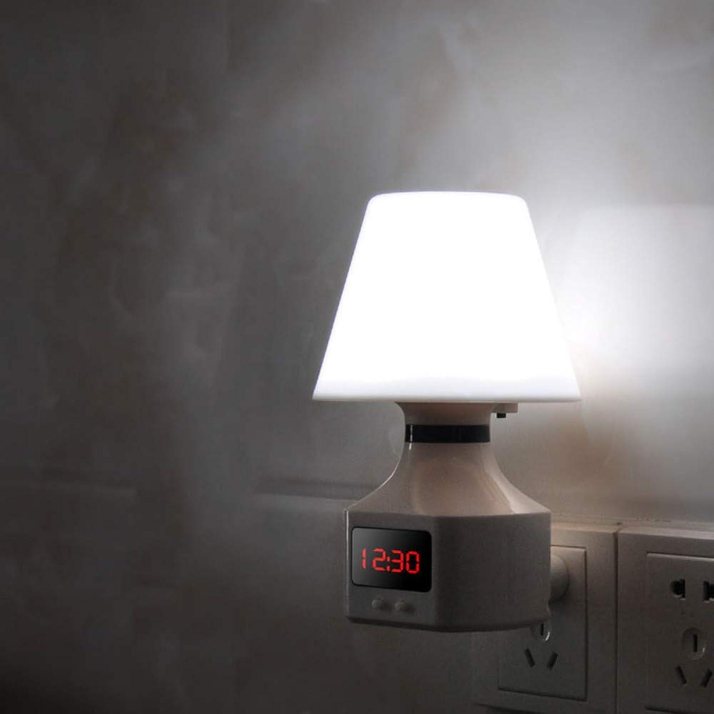 Fernbedienung LED Nachtlicht kreatives Traumschlaflicht Schlafzimmer Nacht Plug-In Plug-In Nachtlicht, weies Licht