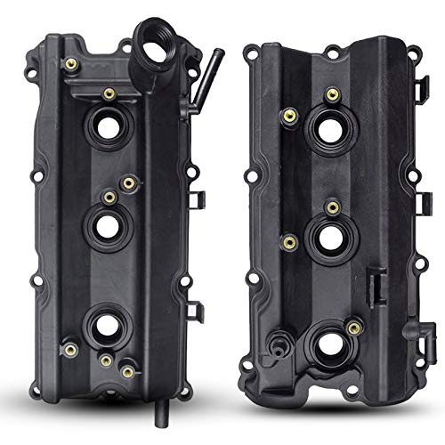 A-Premium Engine Valve Cover Left Right Side Compatible with Nissan 350Z 2003-2009 Infiniti FX35 G35 2003-2008 M35 2006-2010 3.5L