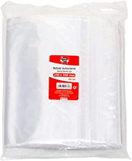 Fixo Pack 50063900-Pack de 100 bolsas autocierre, 230 x