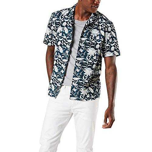 Dockers® Short Sleeve Island Shirt,Azul,S -
