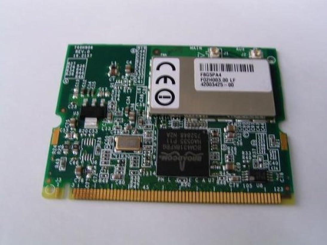 【バルク品】BroadCom 802.11b/g MiniPCI無線LANカード