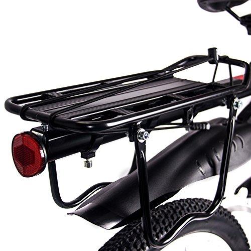 RICH BIT 860 Electric Bike, Mens Pedal Assisted Mountain Folding eBike