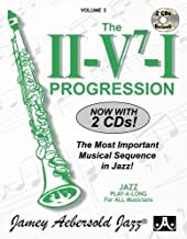 Vol. 3, The II/V7/I Progression: A New Approach To Jazz Improvisation (Jamey Aebersold Play-A-Long Series)
