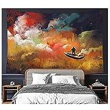 QJIAHQ Bote de remos Tapices Coloridos Decoraciones para Colgar en la Pared Manta Decoración para el hogar para el Dormitorio Sala de Estar Dormitorio Decoración Mural 230x150cm91x59inch