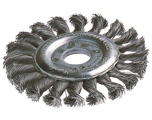 Wolfcraft 2148000 brosse métallique circulaire torsadé pour meuleuse diamètre 115 mm