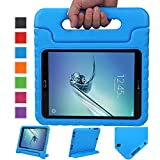 NEWSTYLE Tab S2 9.7 Shockproof Case Light Weight Kids Case Super Protection Cover Handle Stand Case for Kids Children for Samsung Galaxy Tab S2 9.7-inch Tablet SM-T810 SM-T815 (S2 9.7, Blue)