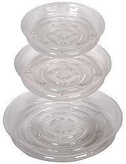Plastic Round Plant Pot Saucers Decorative Flower Garden Planter Holder Tray Stands 13 Pack For Table Floor Home Living Room Deck Patio Lawn Garden Outdoor Indoor Decor 3 of 10