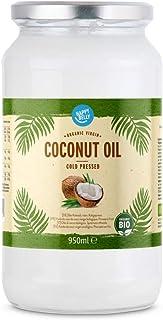 Marca Amazon - Happy Belly - Aceite de coco virgen ecológico, 950ml