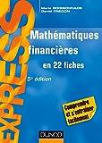 Mathématiques financières - En 22 fiches