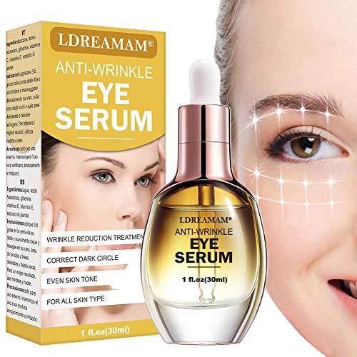 Contorno de ojos serum, crema de ojos antiarrugas, crema antiedad para los ojos contra las cercas, reduce las arrugas crema contorno de ojos.