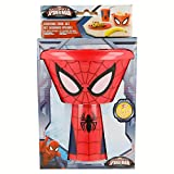ALMACENESADAN 2075; Set apilable Desayuno o merienda Spiderman; Compuesto por un Bol, un Plato y un Vaso, Producto de plástico, Libre BPA