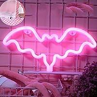 LEDネオンライト小型色のライトネットガールの心臓部屋の装飾寝室の提案の背景装飾吊り下げ,H