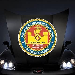 Marines USMC 4th Combat Engineer Battalion SSI 20