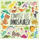 Comptez les Dinosaures!: Un livre de puzzle amusant pour les enfants de 2 à 5 ans